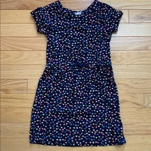 Gap kids navy and heart dress ❤️